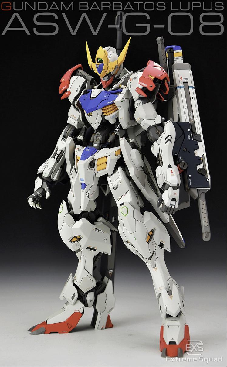 Extreme Squad 1/100 Gundam Barbatos Lupus Conversion Kit