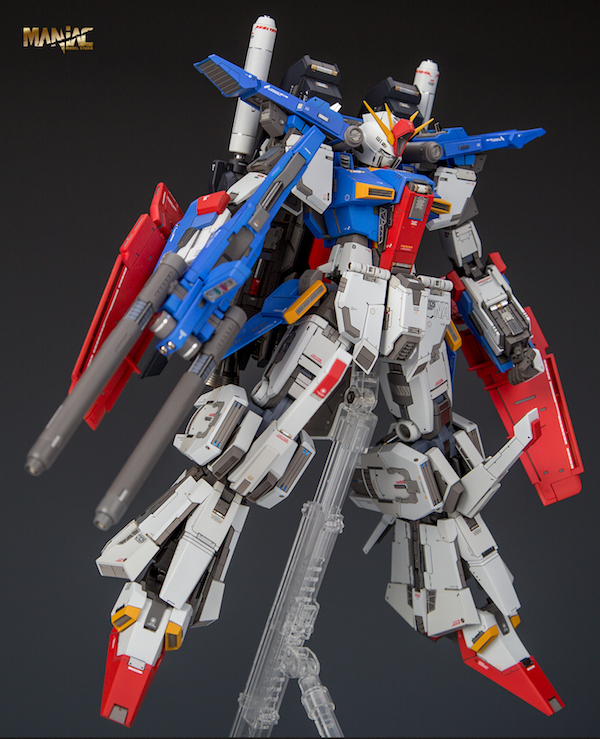 Latest News Zz Hd: Maniac Studio 1/100 ZZ Gundam Ver.Ka Conversion Kit